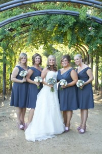 "My work was featured on ""Style Me Pretty ""  Belt/Dudley Wedding Party."